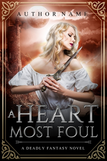 A Heart Most Foul_premade cover