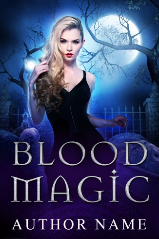 Blood and Magic_premade cover