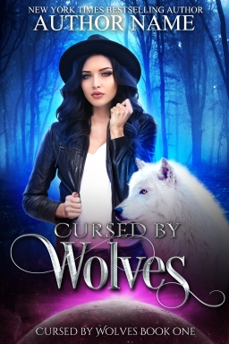 Cursed by Wolves book 1_premade cover remake