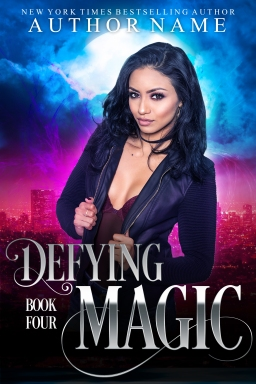 Defying Magic_book four_premade cover