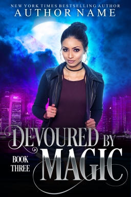 Devoured by Magic_book three_premade cover