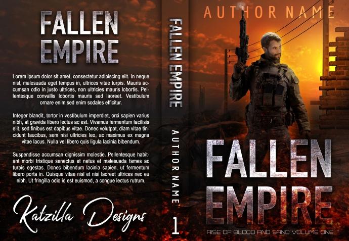 Fallen Empire_premade cover