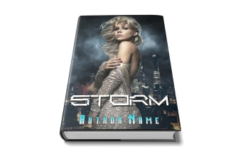 STORM hardcover with leaf.