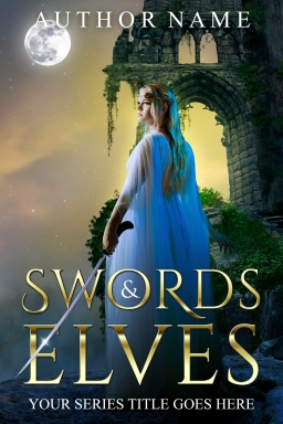 Swords and Elves_premade cover