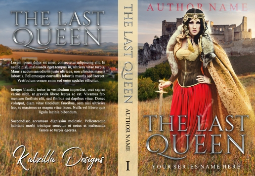 The Last Queen_premade cover