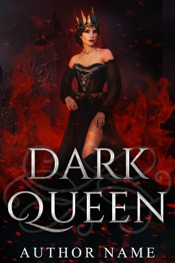 Dark Queen_premade cover_cover only