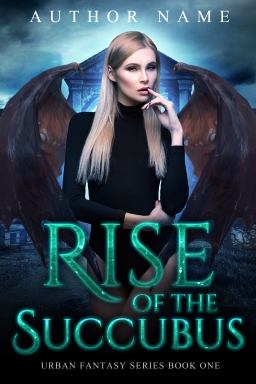 Rise of the Succubus_book one_premade cover