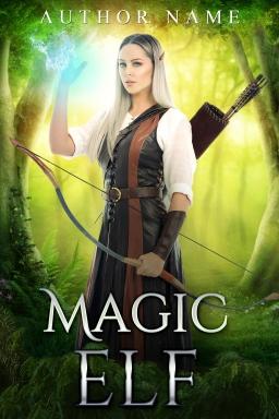 Magic Elf_premade cover
