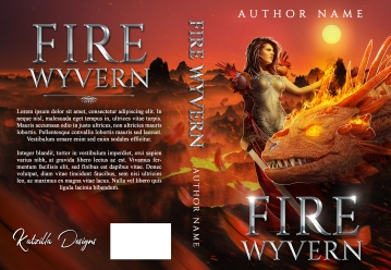 Fire Wyvern_Premade Cover