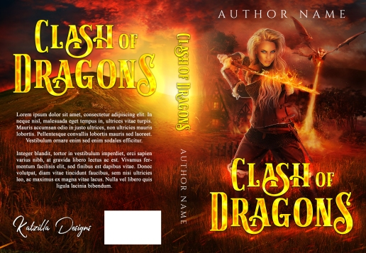 Clash of Dragons_Premade Cover