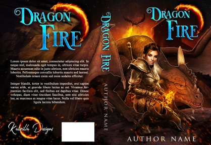 Dragon Fire_Premade Cover