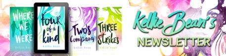 Kellie Bean's newsletter banner