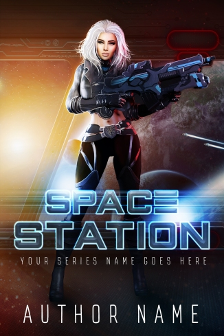 Space Station_Premade Cover_Ebook Cover