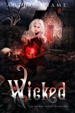 Wicked Book 2_Premade Cover